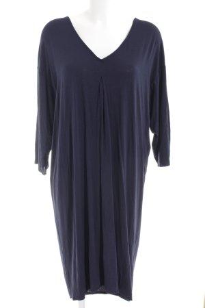 Monki Jerseykleid dunkelblau Casual-Look