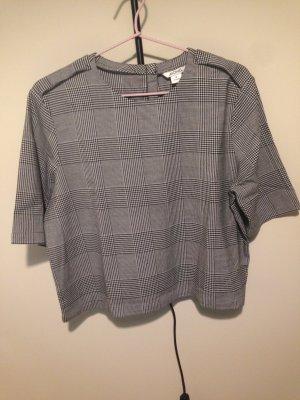 Monki kariertes Top Oberteil Shirt Trend