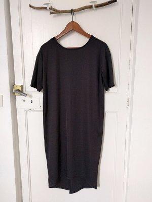 MONKI Kleid Gr. 38 mit tollem Rücken Black Schwarz Minimalistisch Shirt
