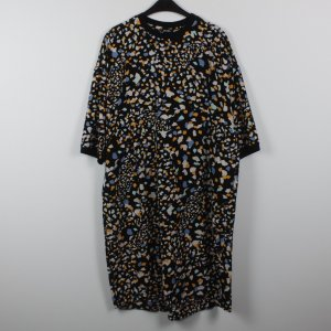 Monki Midi Dress multicolored polyester