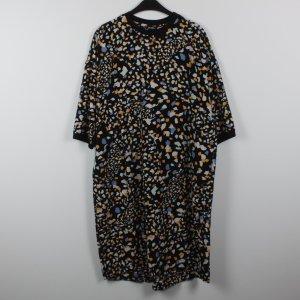 Monki Kleid Gr. XS schwarz gemustert
