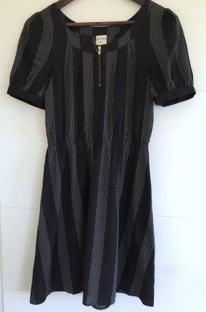 Monki Kleid schwarz-weiß