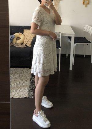 Monki A-lijn jurk wolwit