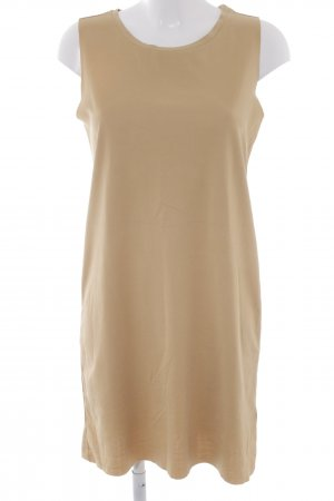 Monki Kurzarmkleid camel Street-Fashion-Look