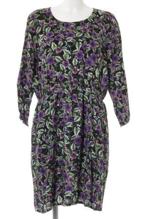 Monki Longsleeve Dress flower pattern casual look