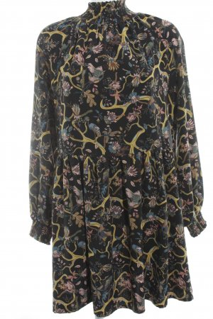 Monki Langarmkleid Blumenmuster Romantik-Look