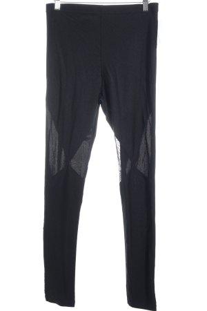 Monki Leggings schwarz sportlicher Stil
