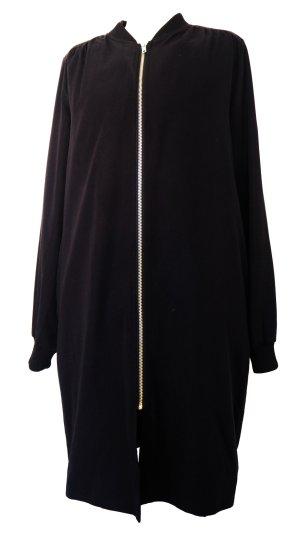 MONKI_ Long lightweight jacket_Bomber style_Black_XS/34