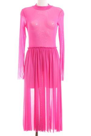 Monki Maxikleid pink Party-Look
