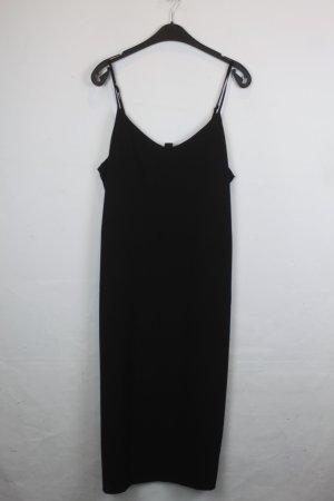MONKI Maxikleid Kleid Gr. M schwarz