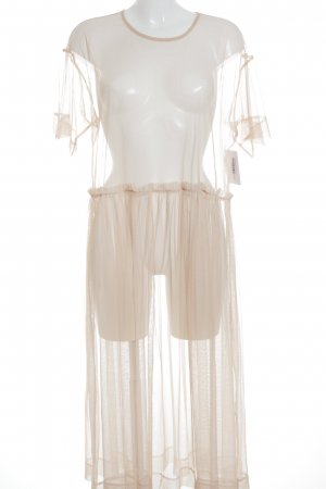 Monki Maxikleid nude Street-Fashion-Look