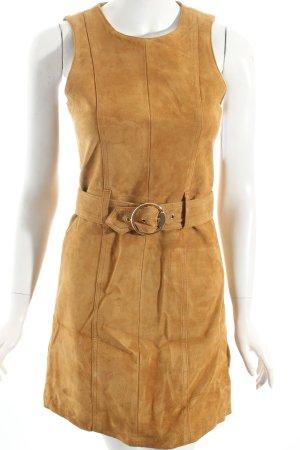 Monki Minikleid camel 70ies-Stil