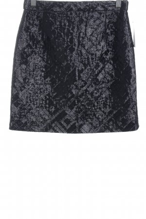 Monki Minirock schwarz Casual-Look