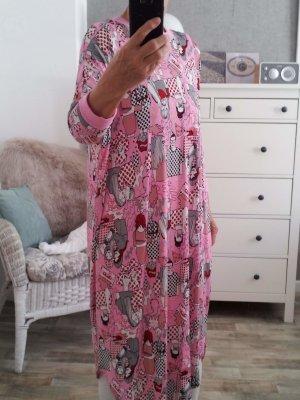 Monki Oversize Shirt M rosa bunt