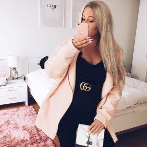 Monki Oversized Jacke rosa Bloggerstyle