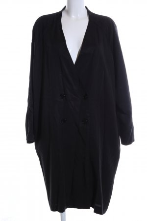Monki Oversized Mantel schwarz Business-Look