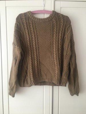 MONKI Oversized Pullover 100% Baumwolle