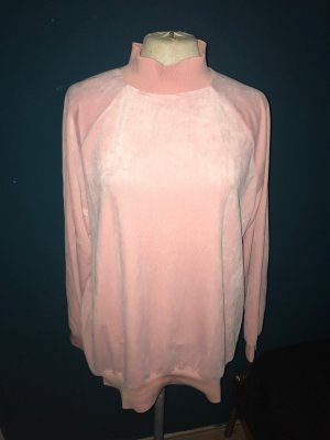 Monki oversized Pullover in schönem samt Rose, wie neu, 36/38
