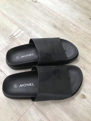 Monki Mules black