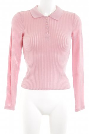 Monki Polo-Shirt pink Casual-Look