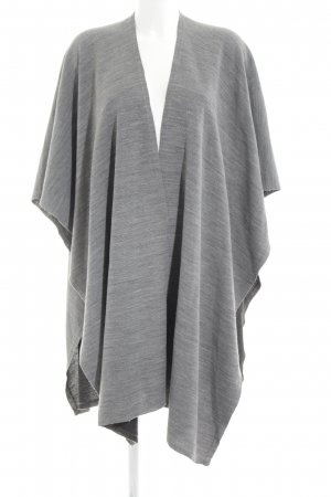 Monki Poncho lichtgrijs casual uitstraling