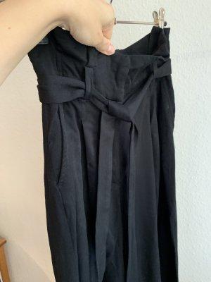 Monki High Waist Trousers multicolored viscose