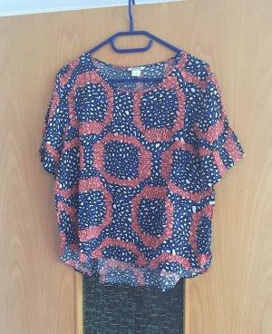 Monki Shirt gr. M bunt Blogger Sommer