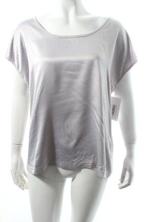 Monki Shirt silberfarben Casual-Look