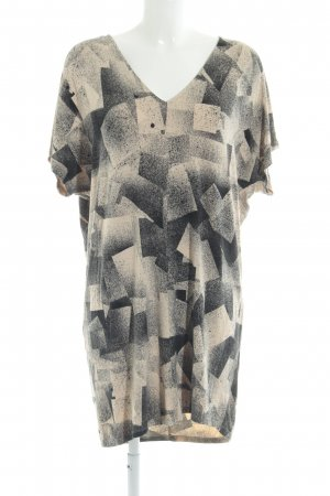 Monki Shirtkleid Farbtupfermuster Casual-Look