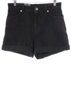 Monki Shorts schwarz sportlicher Stil
