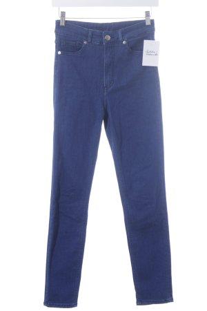 Monki Skinny Jeans blau schlichter Stil