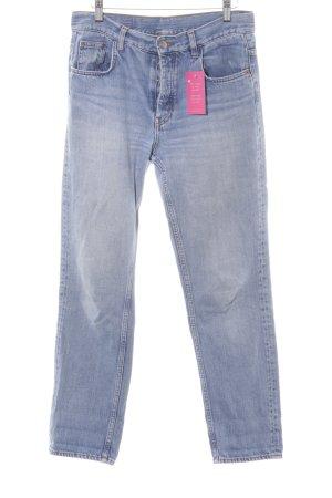 Monki Slim Jeans himmelblau Jeans-Optik