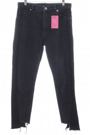 Monki Slim Jeans schwarz Casual-Look
