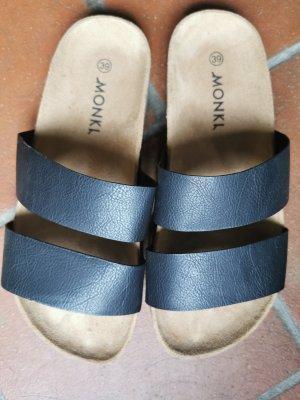 Monki Comfort Sandals black