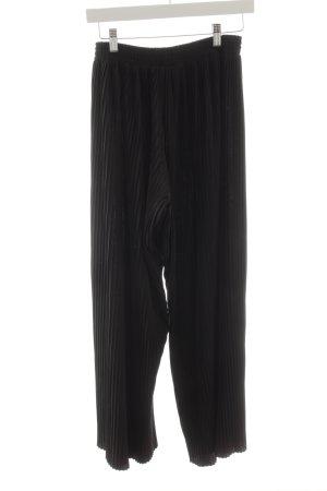 Monki Stoffhose schwarz Elegant