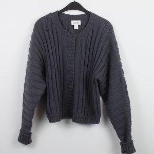Monki Giacca in maglia grigio