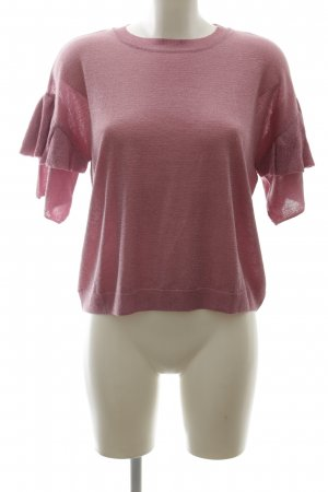 Monki Camicia maglia rosa stile casual
