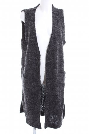 Monki Knitted Vest light grey casual look
