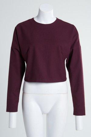 MONKI Sweatshirt kurz oversize mit Reißverschluss