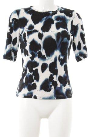 Monki T-Shirt abstraktes Muster Casual-Look