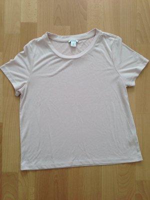 Monki – T-Shirt Rosa Gr. M