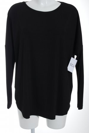 Monki T-Shirt schwarzbraun Casual-Look