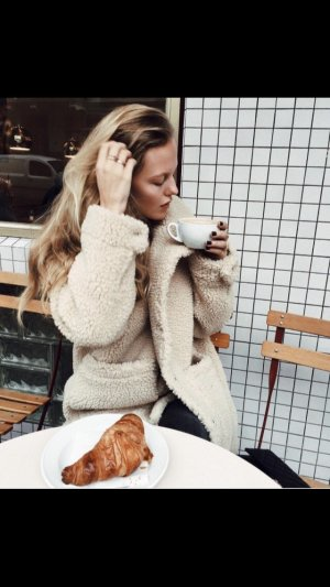 Monki Teddy Coat - Blogger Coat
