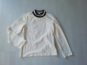 Monki Camicia nero-bianco sporco
