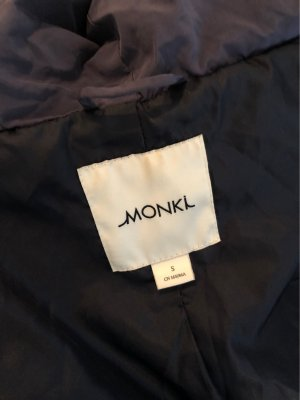 Monki Chaqueta de invierno gris pizarra-azul oscuro
