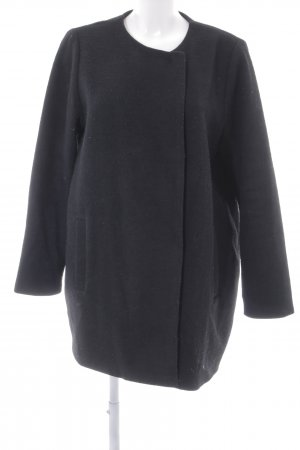Monki Wintermantel schwarz Elegant