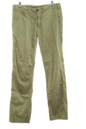 Monocrom Pantalon «Baggy» gris vert style décontracté