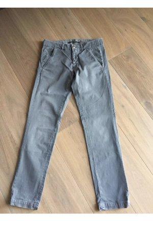 Monocrom Pantalon chinos gris