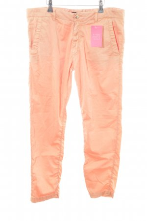 Monocrom Chinohose apricot Casual-Look