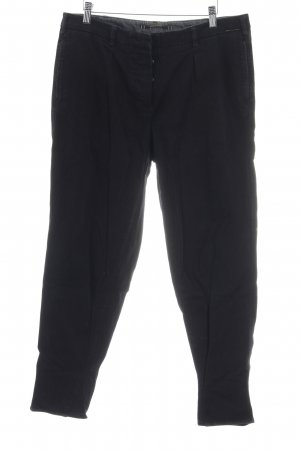 Monocrom Chinohose schwarz Casual-Look